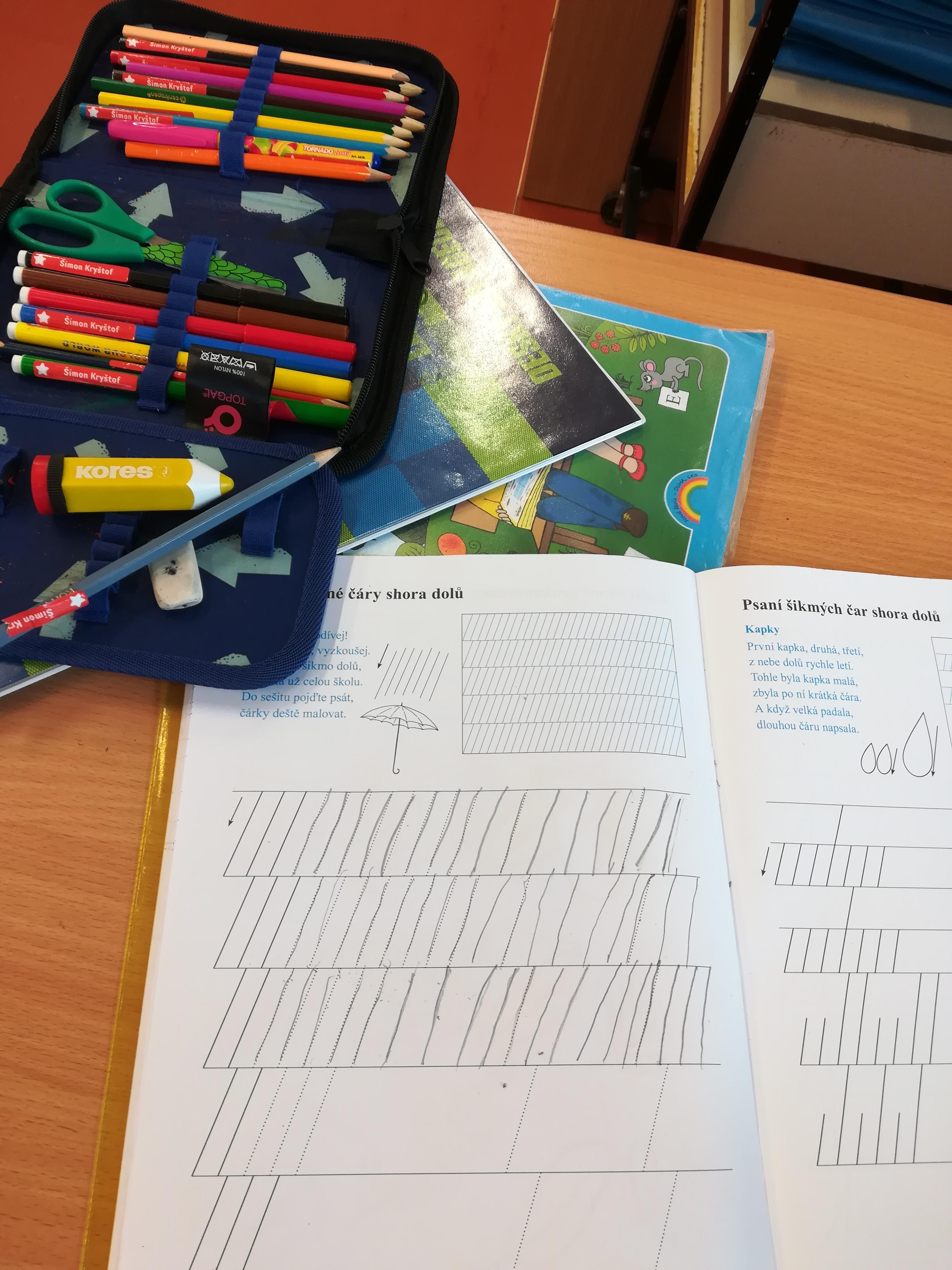 Jak na psaní v první třídě